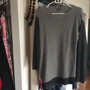 Vince Camuto Grey Sweater Shirt